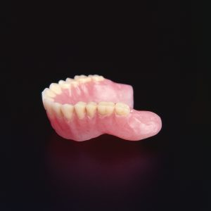 Cleaned upper denture using denture brite denture and orthodontic extra strength denture cleaner, cleans dentures,partial dentures, dentures on implants, retainers